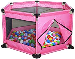 Foldable Baby Kids Playpen Activity Center Room Fitted Floor Baby Kids Safety Protection Care Playpen Tent Crawling Game F...