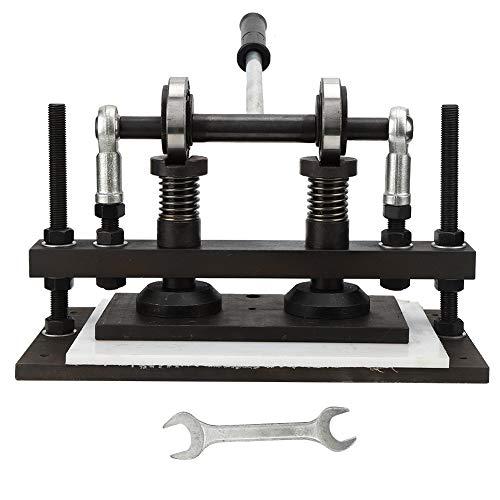 Máquina Cortadora de Cuero, Máquinas de Estampado En Relieve de Láminas de Pvc Eva de 26 X 13 Cm, Troqueladora Manual Para Corte Artesanal