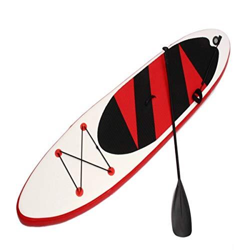 Tabla de Surf 10.5ft al Aire Inflable Tabla de Surf Conjunto se Levanta de una Silla Ajustable Surf Barco Deportes Paseo del Agua del Sup Junta Rojo y Azul Natación de Tabla de Surf