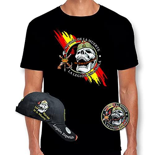 Pack Legion Española Novios de la Muerte Ejército Español Militares Camiseta +...