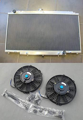 Radiador y ventiladores de aluminio para GU PATROL Y61 PETROL 1997+ Automático/Manual