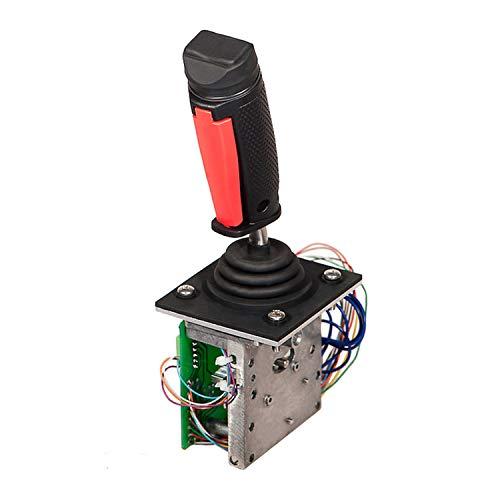 Controlador de Joystick 1600268 Compatible con Elevador de Tijera JLG Serie E2 1532E2 1932E2 2032E2 2632E2 3246E2 2646E2 Joystick de Un Solo Eje
