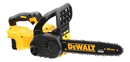 Dewalt 18V XR Akku-Kettensäge DCM565N (30cm Schwertlänge, automatische Kettenschmierung, werkzeuglose Kettenspannung, ideal für kleinere Bau- und Holzfällerarbeiten, Lieferung ohne Akku + Ladegerät)