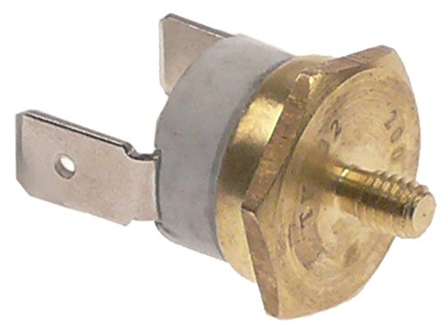 BFC thermostaat voor koffiezetapparaat Perfetta 200°C aansluiting F6,3 1-polig inbouw 16mm 1NC M4 M4 1-polig 10A