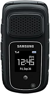 Samsung Rugby 4 B870a Unlocked GSM Tough Rugged Durable Flip Phone - Black