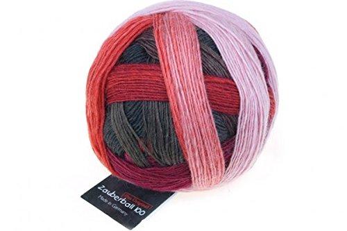 Schoppel-Wolle Zauberball 100, Wollmischung, 2305 Red to Go, 12 x 12 x 9 cm