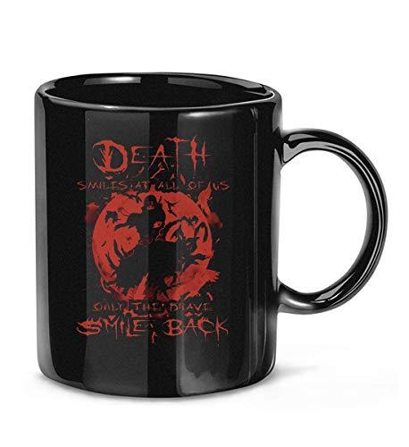 #Death Smiles at All of Us Only The Brave Smile Back Itachi Kaffeetasse Teetassen
