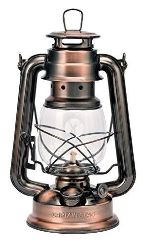 キャプテンスタッグ(CAPTAIN STAG) キャンプ 防災用 ランタン ライト 照明 CS オイルランタン (中) 幅160×奥行120×高さ250mm ブロンズ UK-506