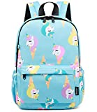 Abshoo Little Kids Unicorn Toddler Backpacks for Girls Preschool Backpack With Chest Strap (Unicorn Blue)
