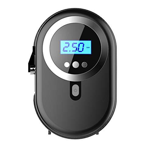 Compresor de aire portátil inflador Pantalla multifuncional bomba eléctrica portátil for el coche del neumático del neumático del coche for Con LED Digital for Neumáticos Inflables Bolas GRS-2020-68