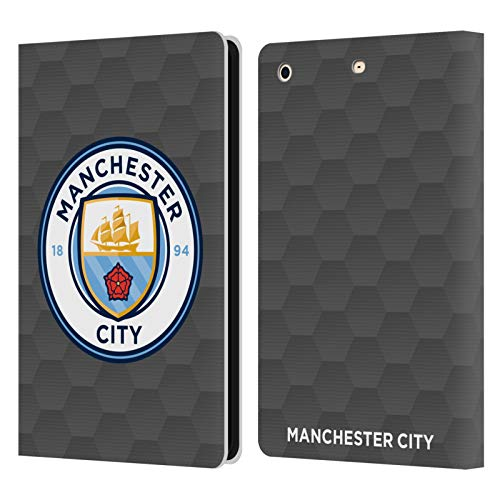 Official Manchester City Man City FC Home Goalkeeper 2020/21 Badge Kit Leather Book Wallet Case Cover Compatible For Apple iPad mini 1 / mini 2 / mini 3