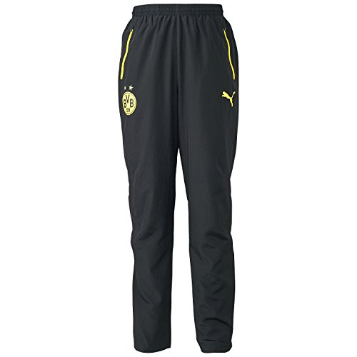 Puma Herren Trainingshose BVB Leisure, black, M, 745835 12