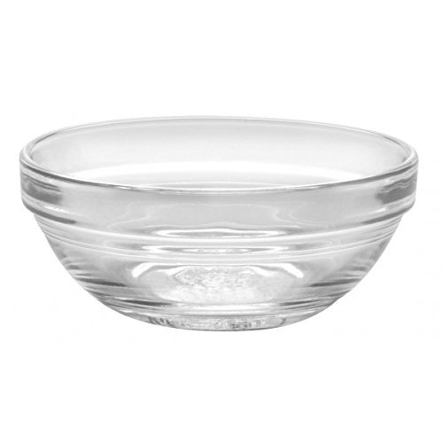 Duralex - Lys Stackable Clear Bowl 7.5 cm (3 in.) Set of 4