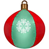 Gemmy Industries 2.5ft tall Airblown Inflatable Hanging Ball Ornament