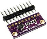 Paradisetronic.com ADS1115 - Conversor analógico digital de 4 canales y 16 bits, módulo ADC I2C para Arduino, Raspberry Pi y Genuino