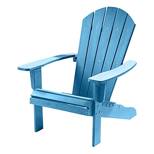 Trueshopping Outdoor Garden Polywood Adirondack Chair - Easy Build, Weather...