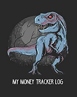 My money tracker log: Simple book keeping journal, expense, income tracker log book for kids