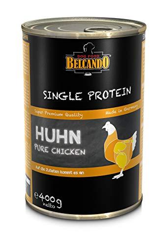 Belcando Nassfutter Hund Single Protein Huhn (Huhn, 6 x 400 g)