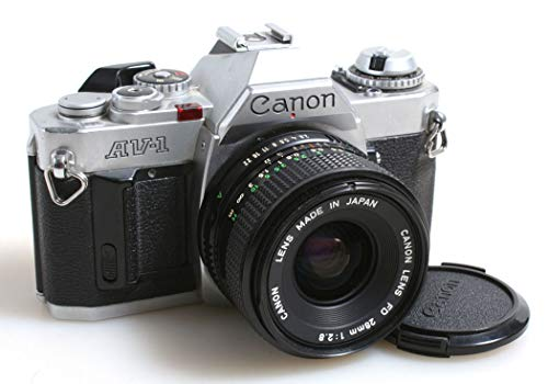 CANON AV-1 + Bell & Howell 28mm F2.8 MACRO
