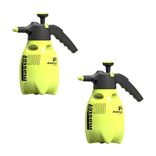 Marolex 2 Liter Drucksprüher Pumpsprayer Handdrucksprüher Sprayer Professional - Laugen-/Säurefest mit NBR-Dichtung und Überkopf-Arbeiten 360° anwendbar (2)