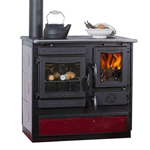 Küchenofen Globe Fire Alhena Links Bordeaux
