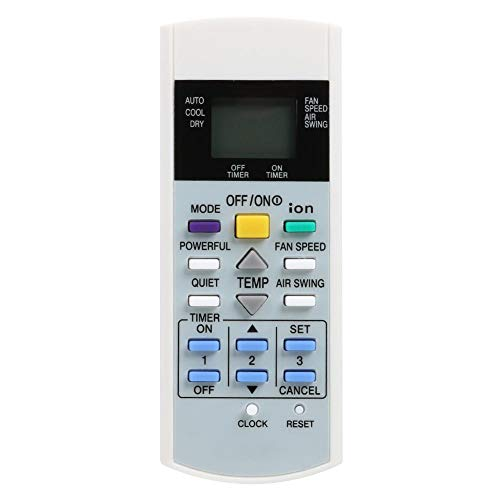 Domybest Fernbedienung für Klimagerät für Panasonic A75C3299 A75C2632 A75C2656 A75C2600 AT75C3299