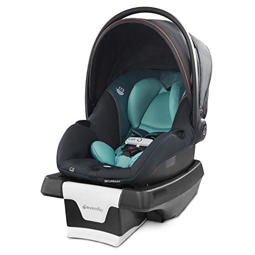 Evenflo Gold SensorSafe SecureMax Smart Infant Car Seat, Sapphire