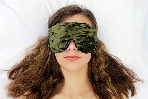 Handmade Weighted Sleep Mask by Candi Andi
