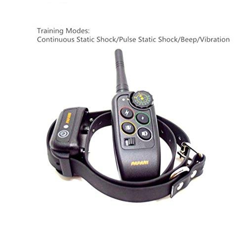 Cutepet Wiederaufladbar Hunde Training Halsband Erziehungsband Mit Ton Und Vibration IP7 Wasserdicht Sicher XG-8716