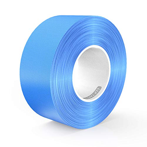 LLPT Duct Tape Premium Grade 2.36 Inches x 108 Feet x 11 Mil Residue Free Strong Waterproof Adhesive Color Sky Blue