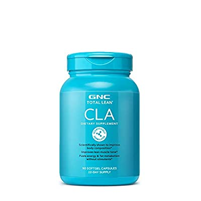 GNC Total Lean CLA, 90 Softgels, Supports Exercise and Muscle Recovery