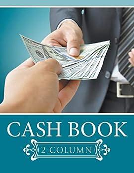 Paperback Cash Book 2 Column Book