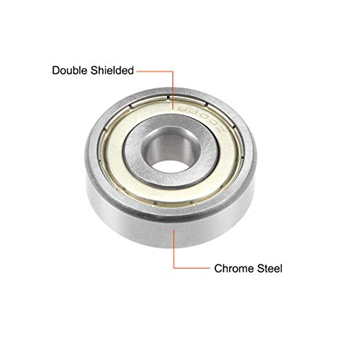 624ZZ Ball Bearing 4x13x5mm Double Shielded ABEC-3 Bearings 2pcs