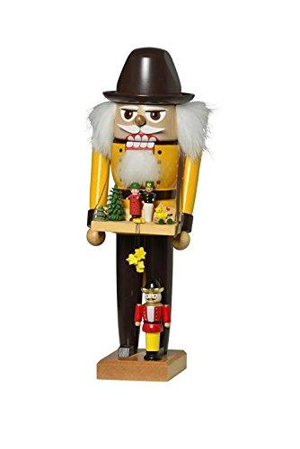 KWO Nutcracker Toy Maker, 28 cm, Wood Multicolour, One Size