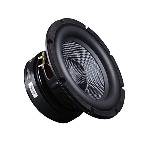Wnuanjun 1 stück 8 Zoll Subwoofer Lautsprecher Fiberglas Weave 3- Way Home Theater Auto Audio Upgrade High Power HiFi Super Bass Lautsprecher 4Ohm 200w (Farbe : 8 Ohm)