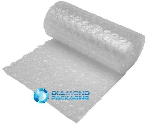 Diamond Packaging Luftpolsterfolie, groß, 300 mm x 10 m, stark genug, ideal für Umzugsarbeiten