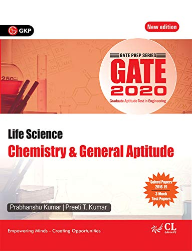 GATE Guide for Life Science Chemistry & General Aptitude