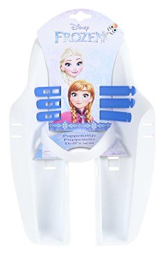 Mädchen Disney Frozen Doll Seat Fahrradschlauch, weiß, M