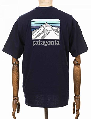 Patagonia M's Line Logo Ridge Pocket Responsibili-tee Camiseta Hombre