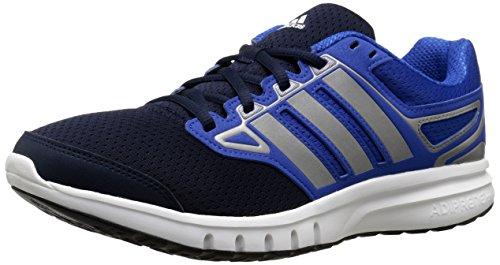 Adidas Performance Galactic Elite M Zapato Corriente, Blanco/Azul/Hierro metálico/Gris, 8,5 M