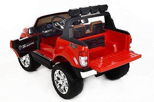 RC Kinderauto kaufen Kinderauto Bild 1: RIRICAR Ford Ranger Wildtrak 4X4 LCD Luxury, Elektro Kinderfahrzeug, LCD-Bildschirm, rot - 2.4Ghz, 2 x 12V, 4 X Motor, Fernbedienung, 2-Sitze in Leder, Soft Eva Räder, Bluetooth*