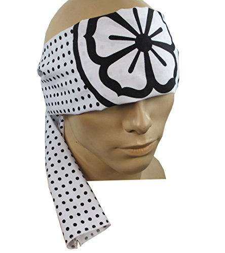 Karate Kid Headband Lotus Flower Hachimaki Daniel Larusso
