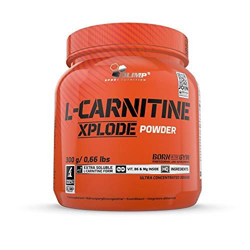 Olimp L-Carnitine Xplode powder - Nahrungsergänzungsmittel, Geschmack Orange, 1er Pack (1 x 300 g)
