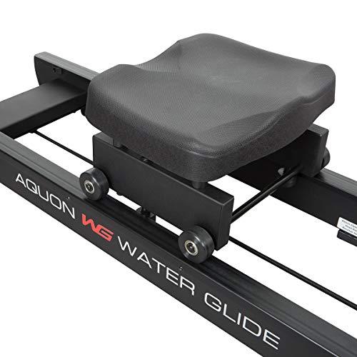 HAMMER Water Glide Wasser Rudergerät Laufschiene und Sitz