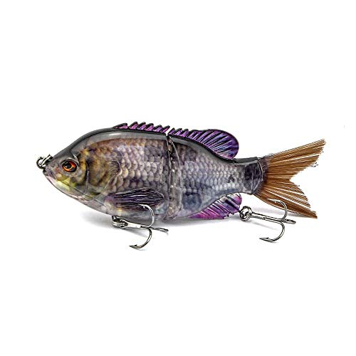 ods lure Bluegill Glide Bait Topwater Fishing Lure Floating Swimbait for Bass Trout Perch Pike Walleye Fishing (1)