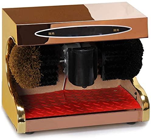 Pulidora De Zapatos Automática Máquina De Limpieza Automática De Zapatos De 45W Cepillo De Zapatos Eléctrico para El Hogar Pulido De Aceite De Eliminación Ust para Uso Doméstico O Público