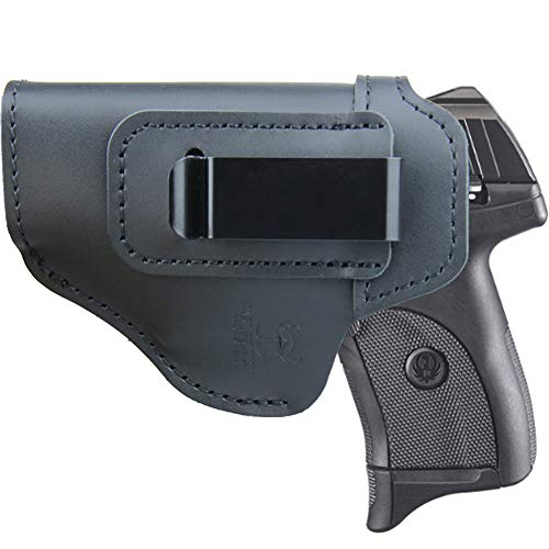 IWB Holster for Inside Waistband Concealed Carry, Fits:Ruger EC9S / LC9S / LC380 / SR22 / SR9C SR40C / Security 9 Compact or Similar Sized Pistols