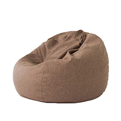 Chaises Longues canapé Chaise Longue canapé de Loisirs Bean Bag Dossier Balcon Chambre à Coucher Loisirs Portatif 5 Couleurs 90 * 80 cm (Couleur : C)