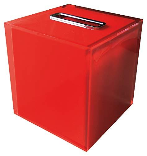 Gedy RA020600000 Porta-Pañuelos, Rojo