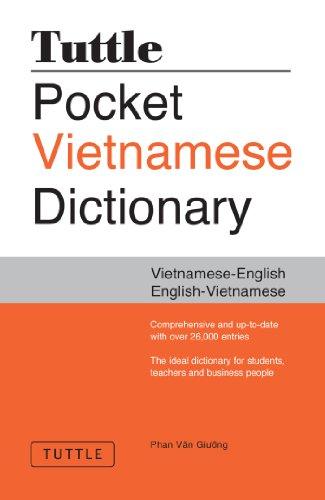 Tuttle Pocket Vietnamese Dictionary: Vietnamese-English, English-Vietnamese (Vietnamese Edition)